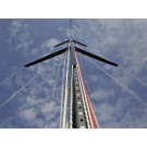 Mast, D46 Comp Carbon, Mast (Competition), carbon with rod rigging