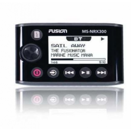 FUSION MS-NRX remote control at helm position