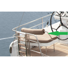 Structural Support for Backrest Helmsman Seat