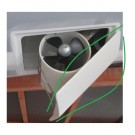 Bow thruster rudder cover