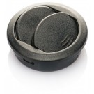 Air vent 50mm round, hinged