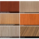 backpanel for furniture with different veneer (2500x1230x4mm)